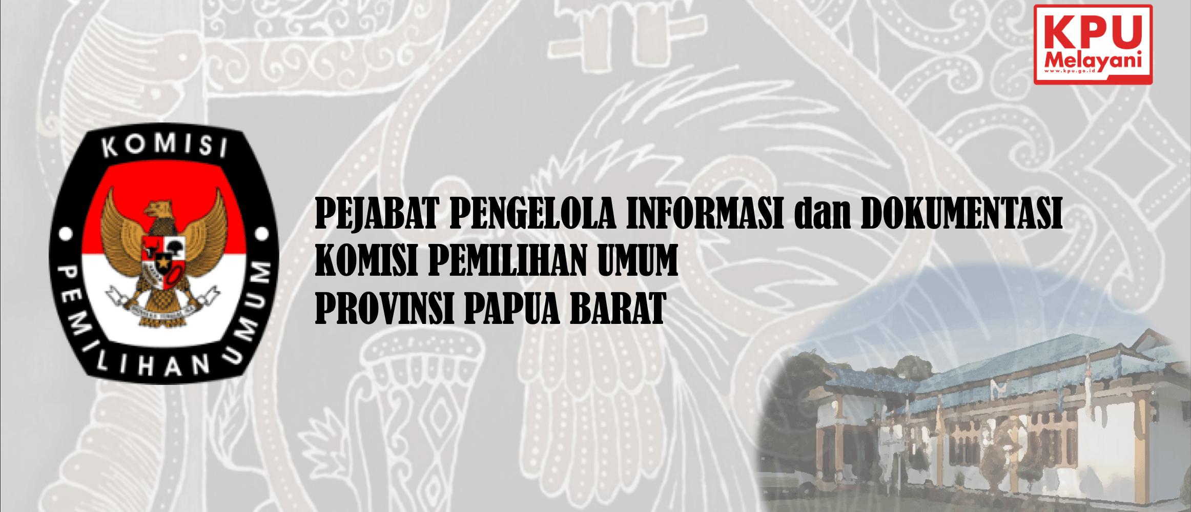 e-PPID KPU Provinsi Papua Barat